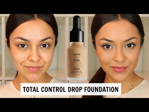 NYX Total Control Drop Foundation First Impression - TrinaDuhra