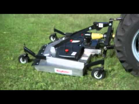 Rear Discharge Finish Mowers wmv