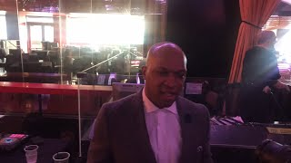 Live With Derrick James Trainer Of Spence & Charlo