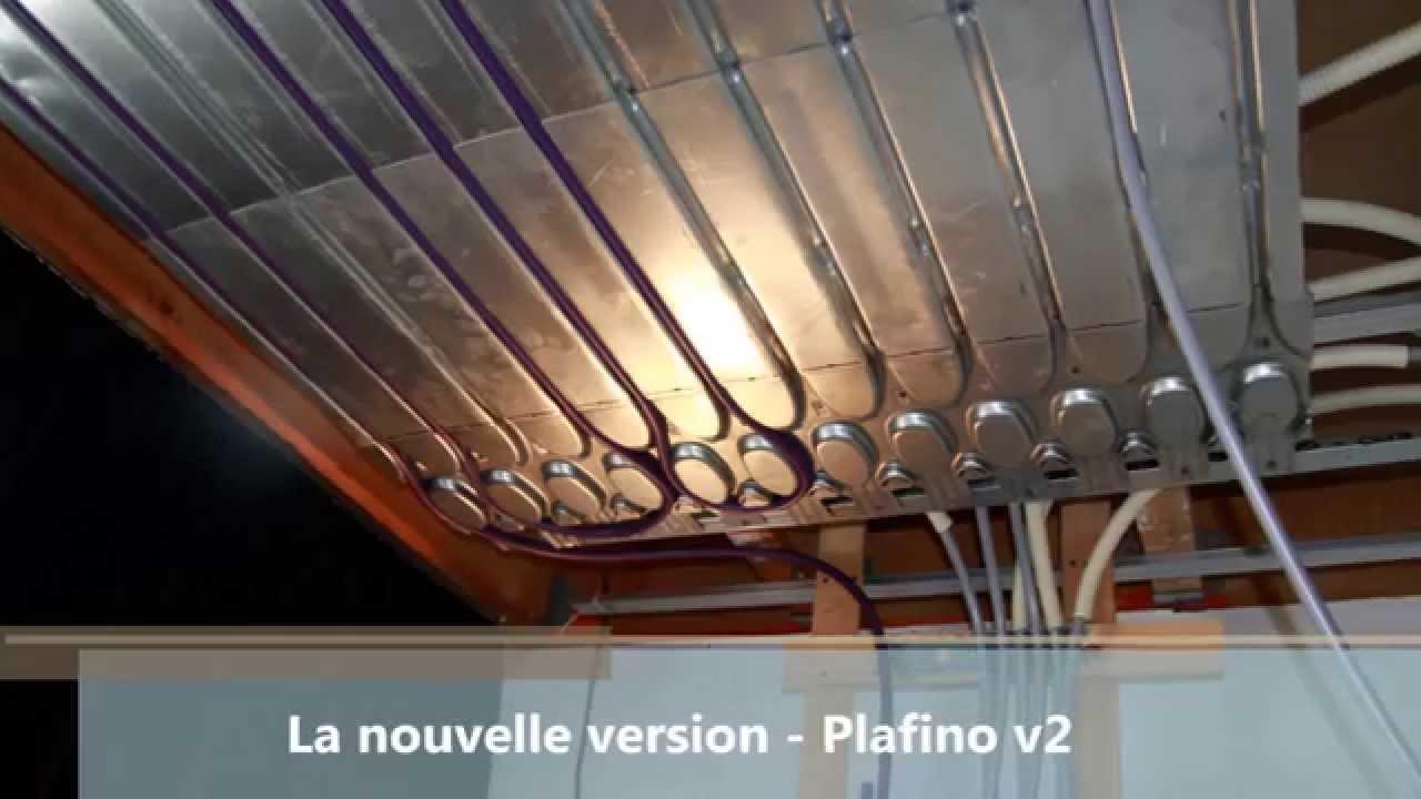 nouveau plafond chauffant plafino la deuxi me version pour une mise en oeuvre plus rapide. Black Bedroom Furniture Sets. Home Design Ideas