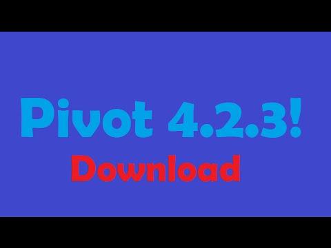 !!Pivot 4.2.3 beta download!!