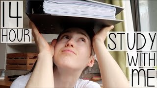Baixar FULL DAY 14 HOUR REVISION STUDY WITH ME IN 14 MINUTES | EXAM SEASON DIARY #005