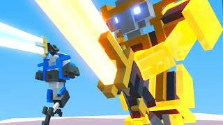 NEW GIANT ROBOT UPGRADE! NEW GAME MODE - Clone Drone in the Danger Zone Part 15 | Pungence