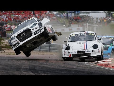 Anton Marklund Heat 3 Accident: Holjes RX - FIA World Rallycross Championship