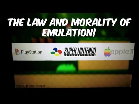 The Law and Morality of Emulation