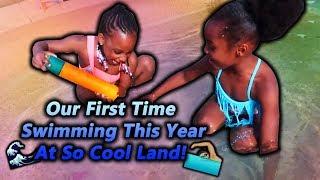 Swimming With Camari At So Cool Land!