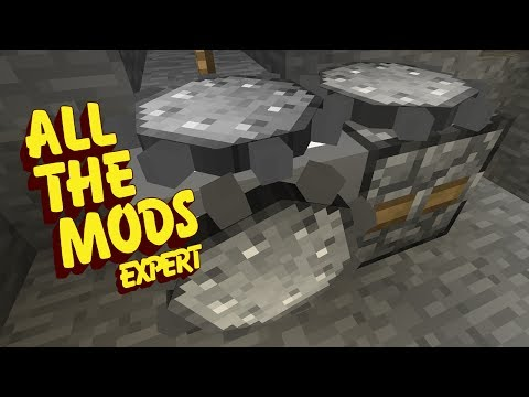 All The Mods Expert Mode - CROSSROADS GRINDSTONE [E03] (Mine