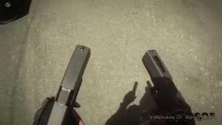 AEX CQB Field Airsoft 6/14/14 Akimbo Pistol Rage