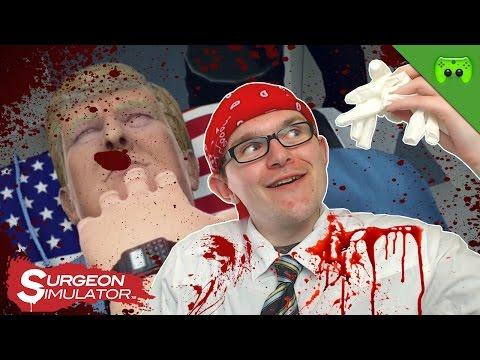 TRUMPS NOT OP DES GRAUENS 🎮 Surgeon Simulator