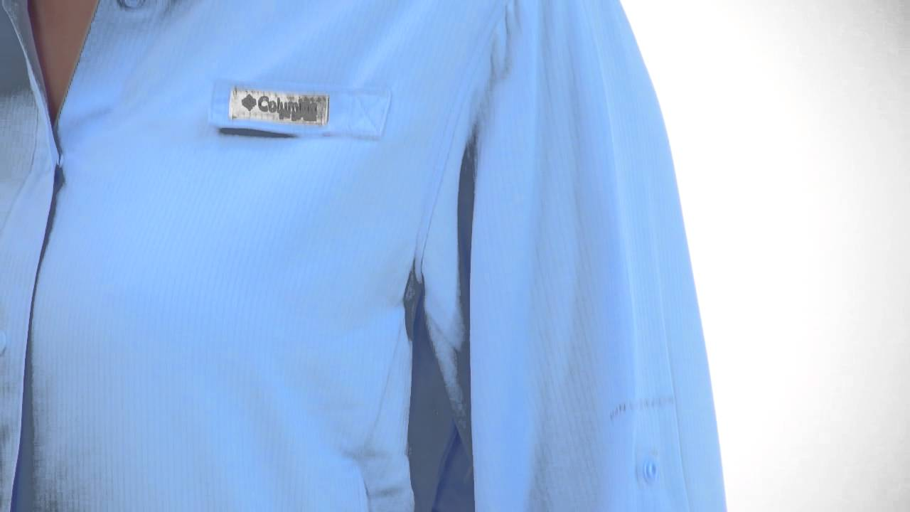 41eb681f6b3 Columbia Women's PFG Tamiami II Long Sleeve Shirt - YouTube