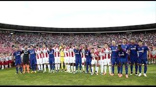 Highlights: Eρυθρός Αστέρας - Ολυμπιακός 2-2 / Highlights: FK Crvena zvezda - Οlympiacos 2-2