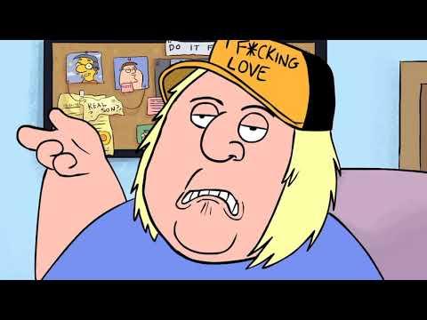 Simpsons meet family guy meme