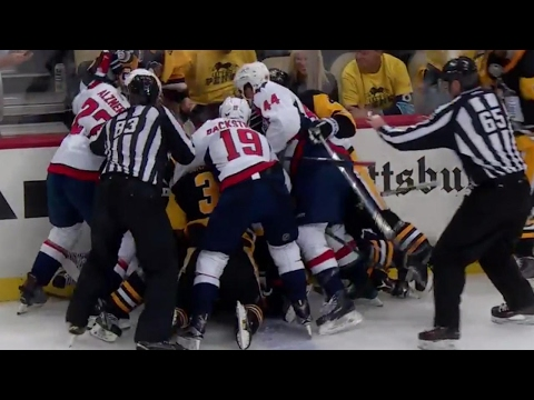 Thumbnail: Tempers flaring between Penguins and Capitals in Game 3