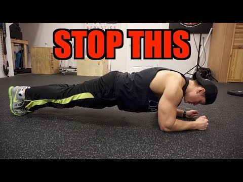 3 Tips to Improve Your PLANK!