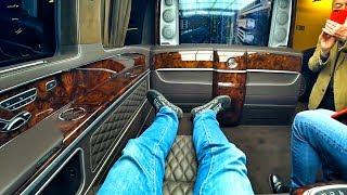 50 МЛН за 3 АВТОБУСА? Ваш выбор? За 12 / 17 / 20 МЛН? Три VIP-уровня от ZART в Mercedes-Benz V-Class