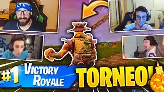 REACTION DEGLI YOUTUBERS ALLA MIA VITTORIA AL TORNEO DI HALLOWEEN! Fortnite Battle Royale