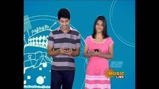Sun music Vaazthukkal,show Vj Dviya & Kathirravan HD Video 19-07- 2016 Part -1
