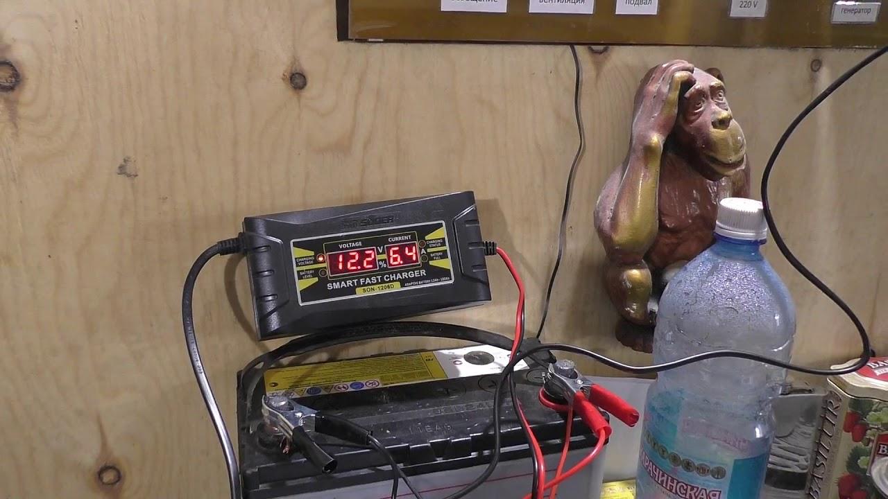 Автономный отопитель. Испытания в условиях гаража. Часть 2