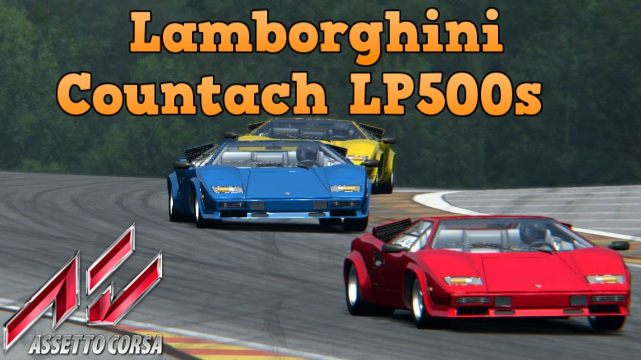 assetto corsa lamborghini countach lp500s at spa youtube. Black Bedroom Furniture Sets. Home Design Ideas