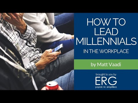 How to Lead Millennials in the Workforce