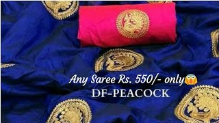 Awesome Silk Sarees Online Shopping 2020 // Latest Embroidered Sarees Collection 2020