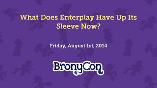 What Does Enterplay Have Up It's Sleeve Now?