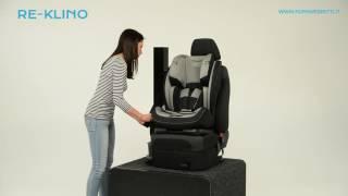 Foppapedretti: seggiolino auto Re-klino fissaggio in auto Gruppo 1 (da 9 a 18 kg)
