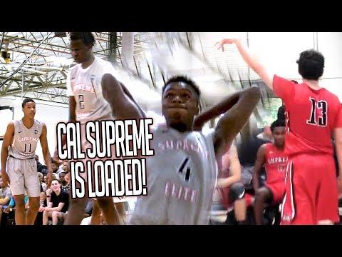 Cal Supreme are THE AVENGERS Of EYBL! Bol Bol & Shareef O'Neal OWN LOS ANGELES