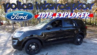 ⚫️ NEW 2018 FORD EXPLORER - POLICE INTERCEPTOR 🚓  👮🏼  In Depth Review - Interior & Exterior