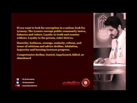 Corruption - Dr. Adnan Ibrahim Quotes