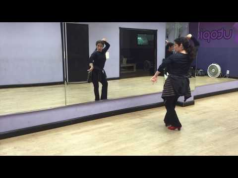 Flamenco dance class for Solea Upper Body