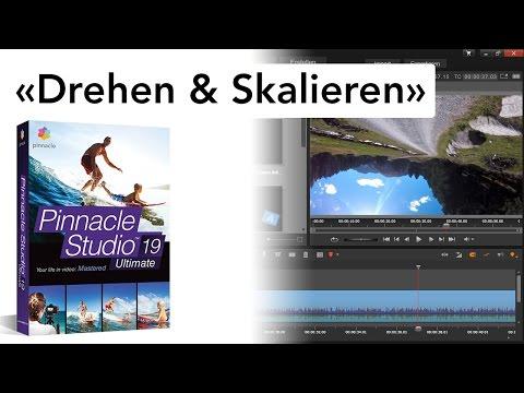 Videoclip drehen und skalieren - Effekte in Pinnacle Studio 19
