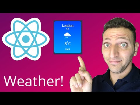03- Coding A Stateless Weather Card - Learn React In 2020