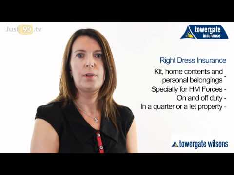 Right Dress Insurance for Military Forces | Towergate
