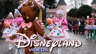 Parade de Noël/Christmas Parade 2015 - Disneyland Paris HD