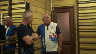 Доктор Попов и тренер  Костюченко Я.Я.