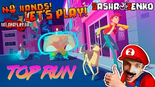 Top Run Gameplay (Chin & Mouse Only)