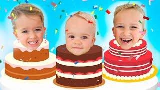 Happy Birthday Christian! Second Birthday kids party with Vlad & Niki, Diana & Roma