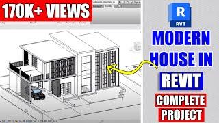 Revit Architecture  Modern House Design #8