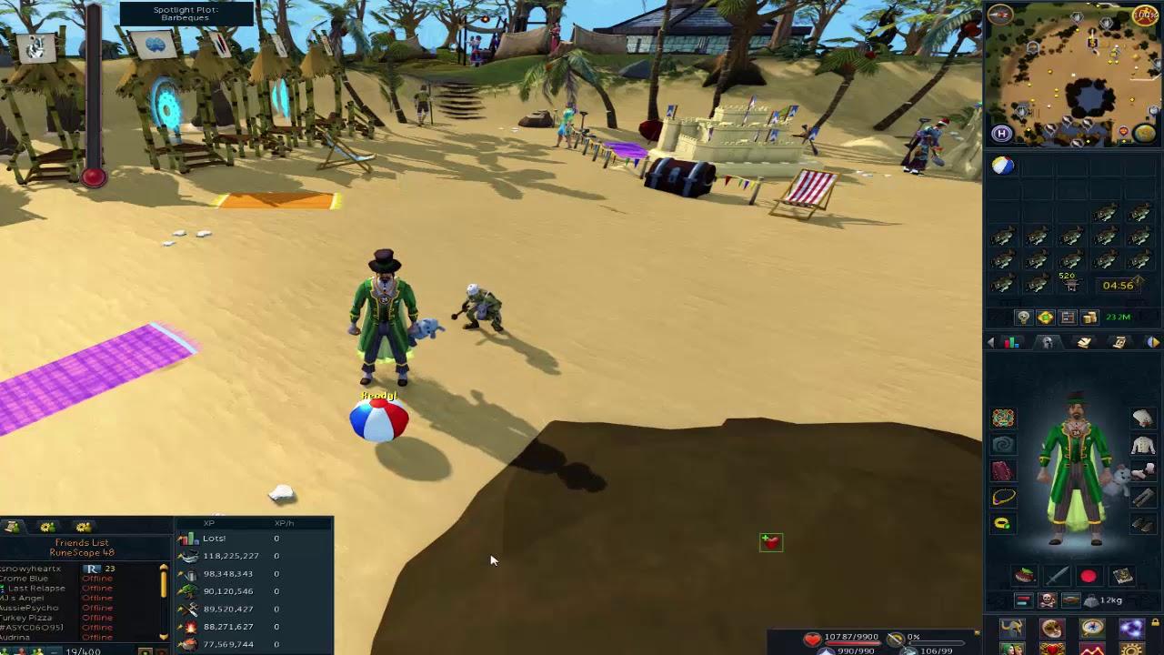 Runescape 2020 Christmas Tokens RuneScape Beach Ball Token! (Beach Event Reward)   YouTube