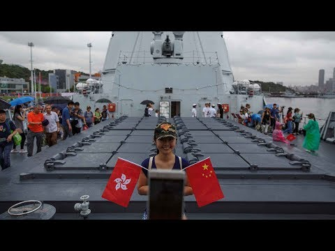 People's Liberation Army Hong Kong Garrison opens barracks to public