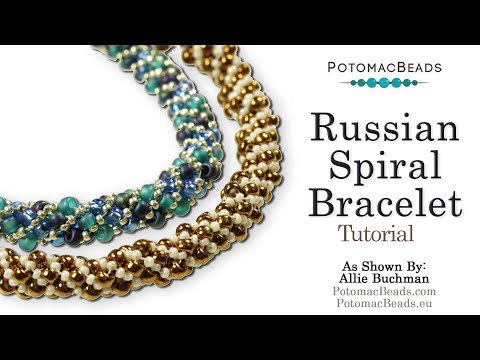 Make a Russian Spiral (Bracelet or Necklace)