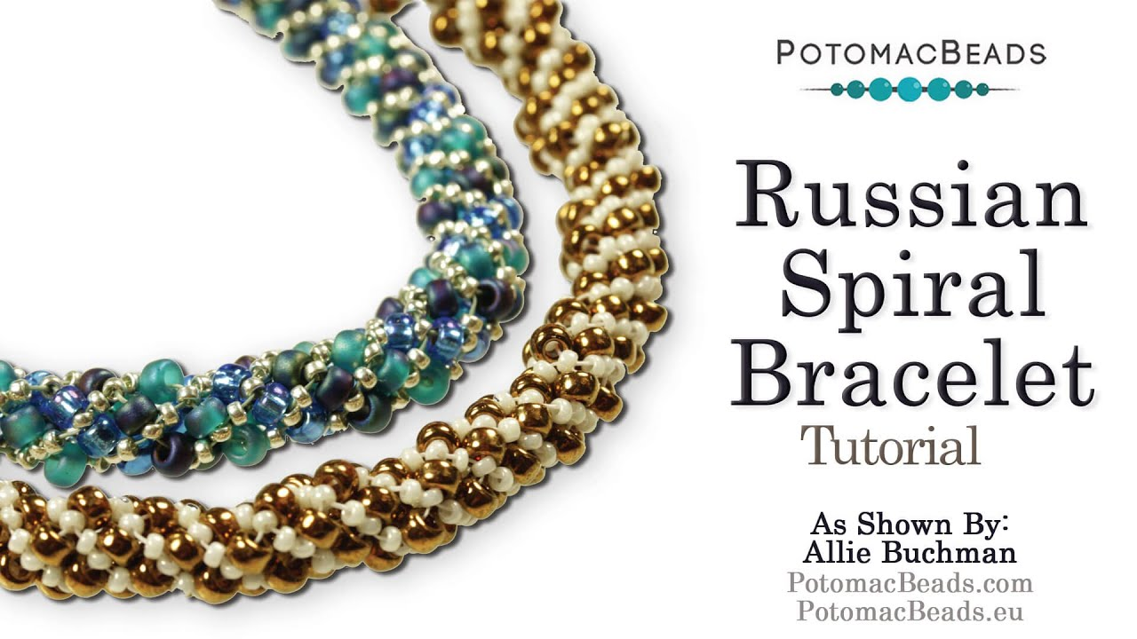 Make A Russian Spiral Bracelet Or Necklace