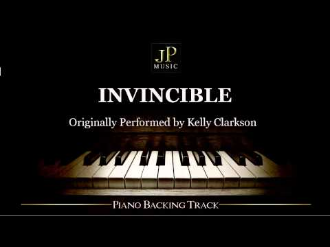 Invincible by Kelly Clarkson (Piano Accompaniment)