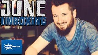 Super Geek Box - June 2015 Unboxing! (Courage!)