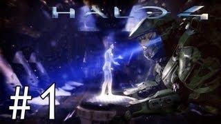 Halo 4 | Campaña - Comienzo!! - PARTE 1 (Gameplay/Walkthrough) - Misión 1: Amanecer  [Xbox360]