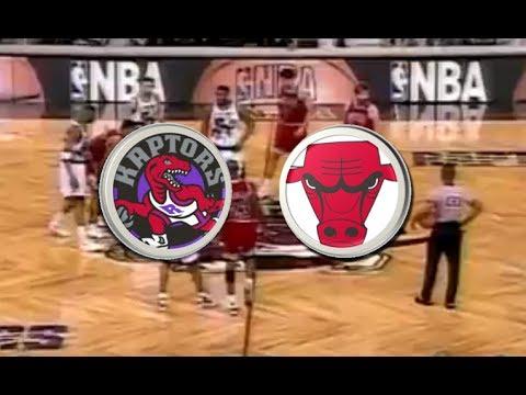 Toronto Raptors (17-49) VS Chicago Bulls (60-7)   1995-1996   NBA