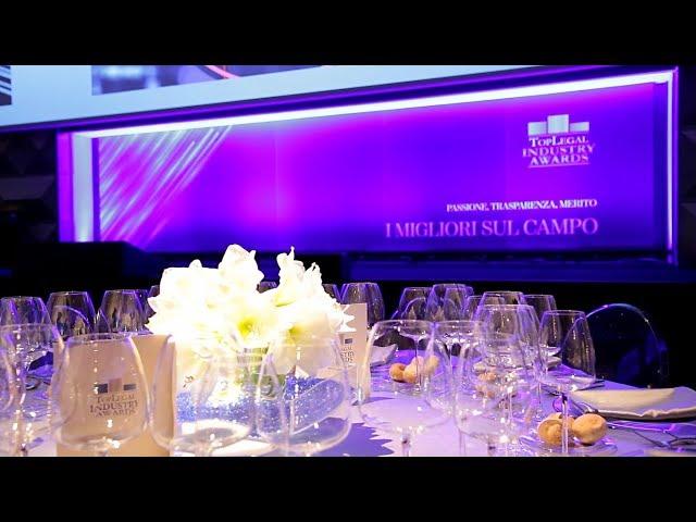 TopLegal Industry Awards 2019 - La serata