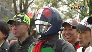 『週刊バイクTV』#734 勝手にツーリングアワード2018・アシスタント岸田彩美【チバテレ公式】