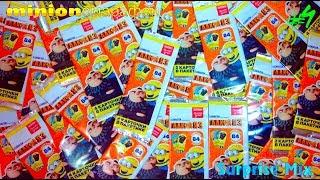МИНЬОНоМАРАФОН - Карточки ГАДКИЙ Я 3 Акция МАГНИТ. 96 КАРТОЧЕК - ВСЯ СЕРИЯ?! РОЗЫГРЫШ повторок